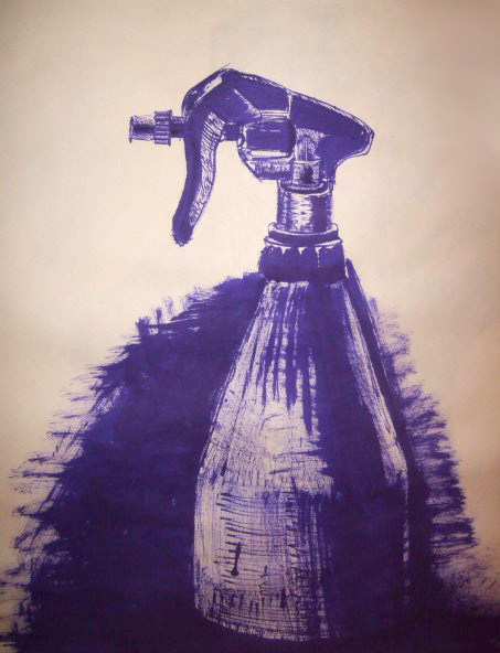 <strong>The study object, ink, 2012</strong>